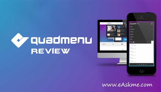 QuadMenu Review: Add a Mega Menu to Any WordPress Theme: eAskme