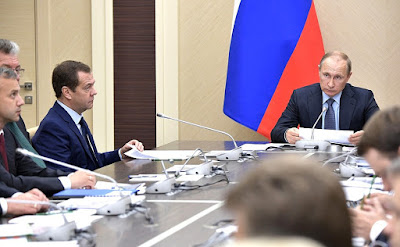 Meeting with Russian Government members.