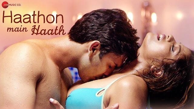 Haathon Main Haath Lyrics Video Song  Altaaf Sayyed Atiya Sayyad