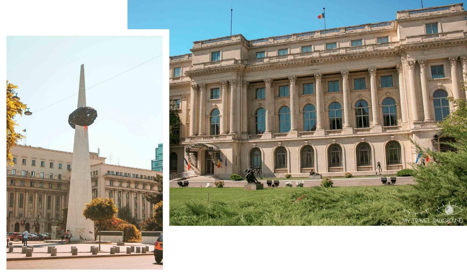 My Travel Background : 3 jours à Bucarest en Roumanie - Musée National d'Art de Roumanie - Memorial Renasterii