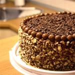 Paprastutis šokoladinis tortas