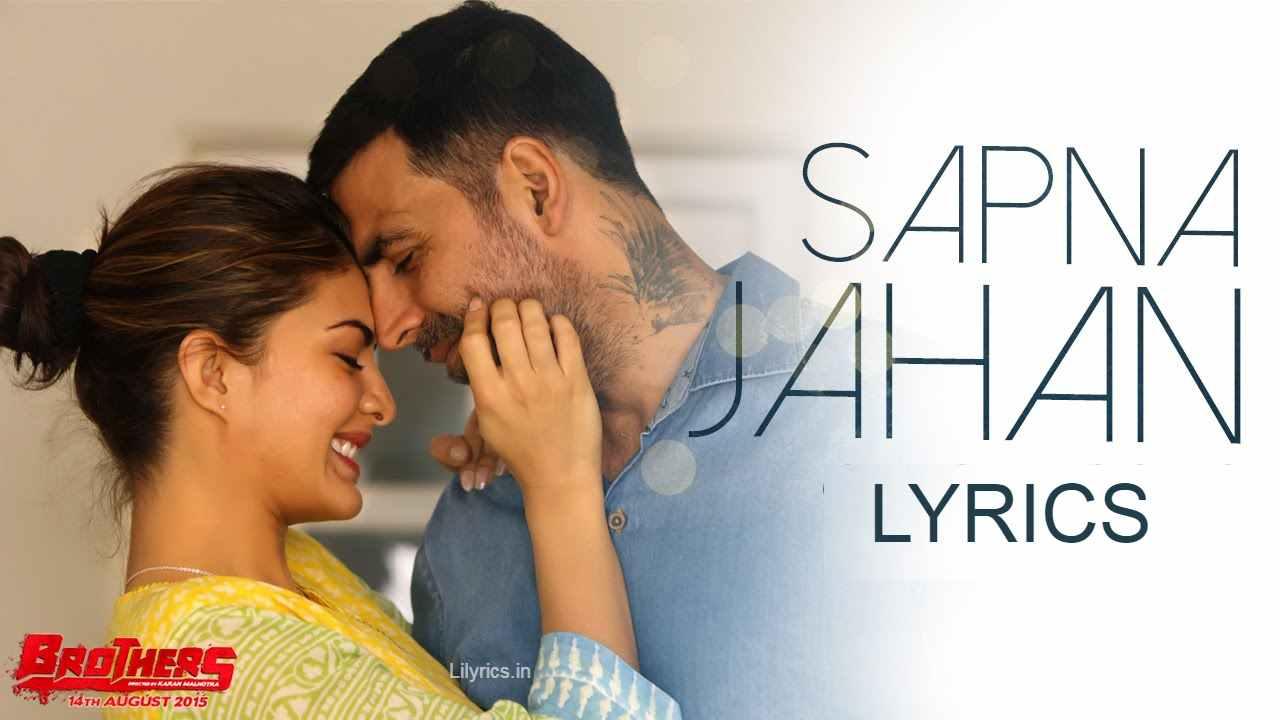 Sapna Jahan lyrics in Hindi