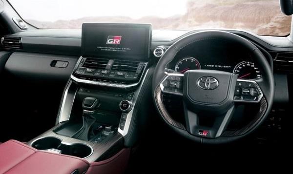 Interior Toyota Land Cruiser 300 GR Sport