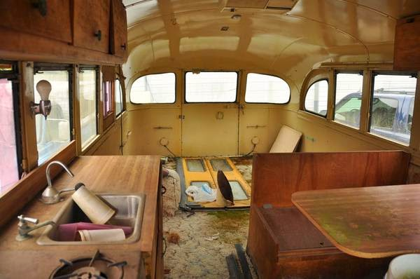 restoration project cars 1954 gmc school bus project. Black Bedroom Furniture Sets. Home Design Ideas