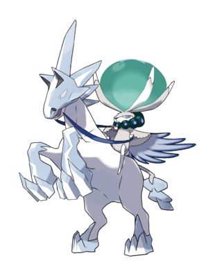 Pokémon Ice Rider Calyrex
