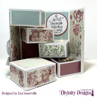 Stamp/Die Duos: In My Heart, Custom Dies: Treat Tower, Circles, Ovals, Pierced Circles, Pierced Ovals, Ornate Ovals, Paper Collection: Romantic Roses