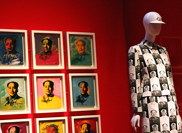Vivienne Tam Mao Suit at China Through The Looking Glass