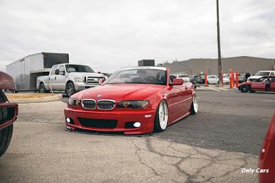 BMW Vermelha Rebaixada