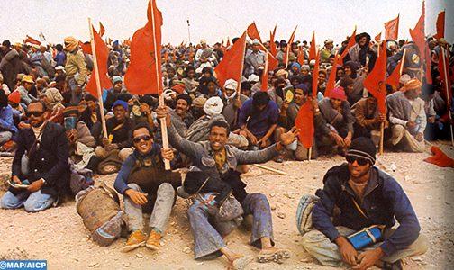 الذكرى 45 للإعلان عن تنظيم المسيرة الخضراء، محطة وضاءة في تاريخ المملكة المغربية
