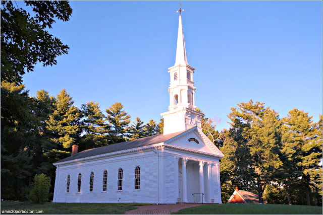 Martha-Mary Chapel en Sudbury, Massachusetts