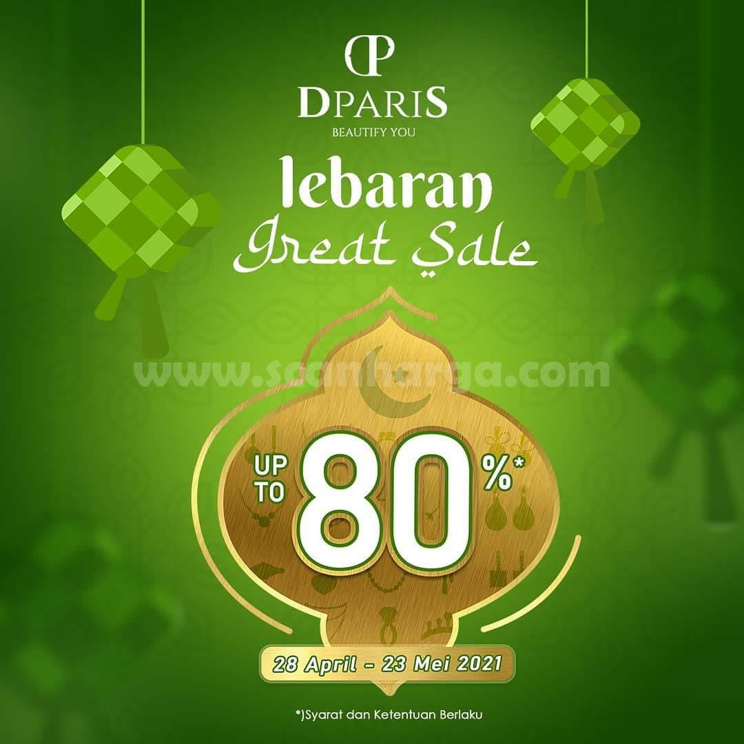 Promo DPARIS LEBARAN GREAT SALE - DISKON Hingga 80%
