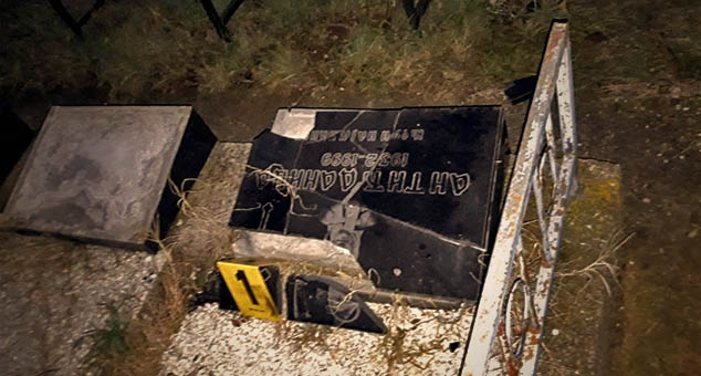 #Porušeno #groblje #Lipljan #Srbi #Pravoslavlje #progon #Šiptari #Albanci #Arnauti