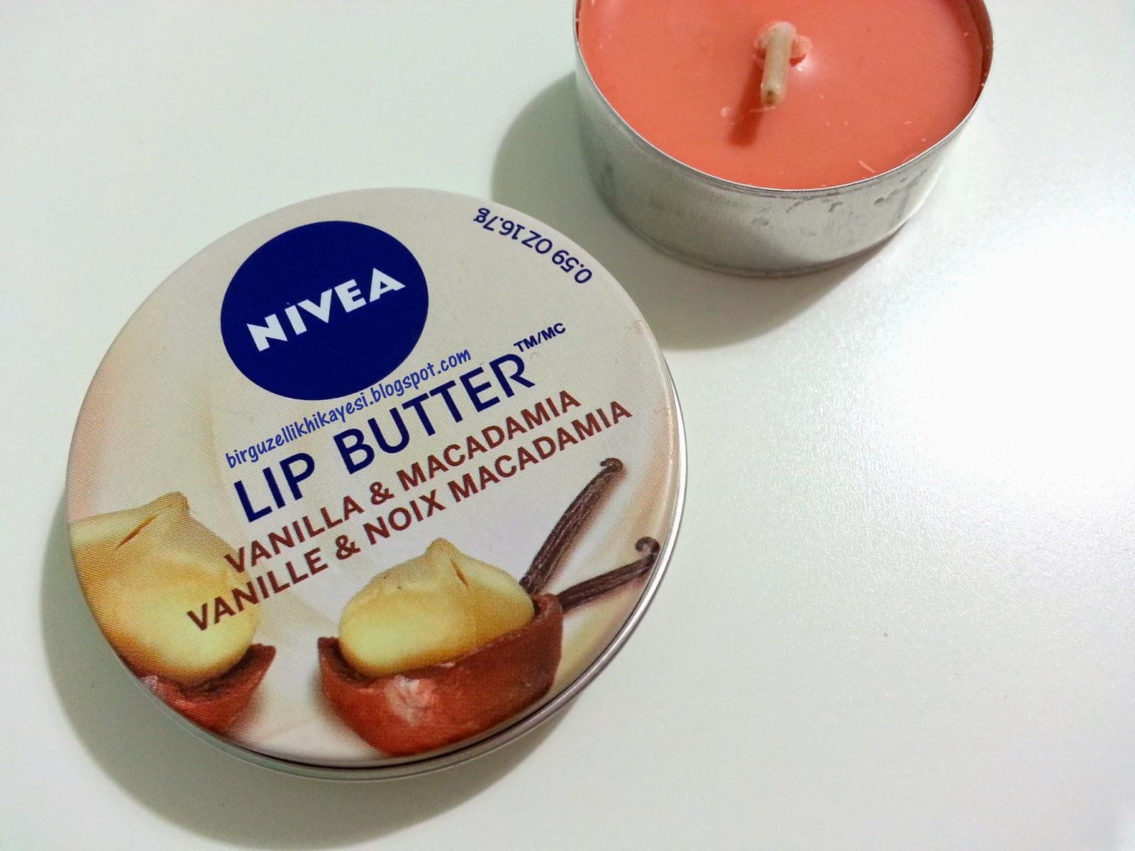 nivea lip butter vanilla