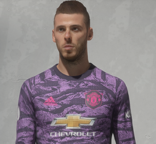 FIFA 20 Faces David De Gea by Fatalinho