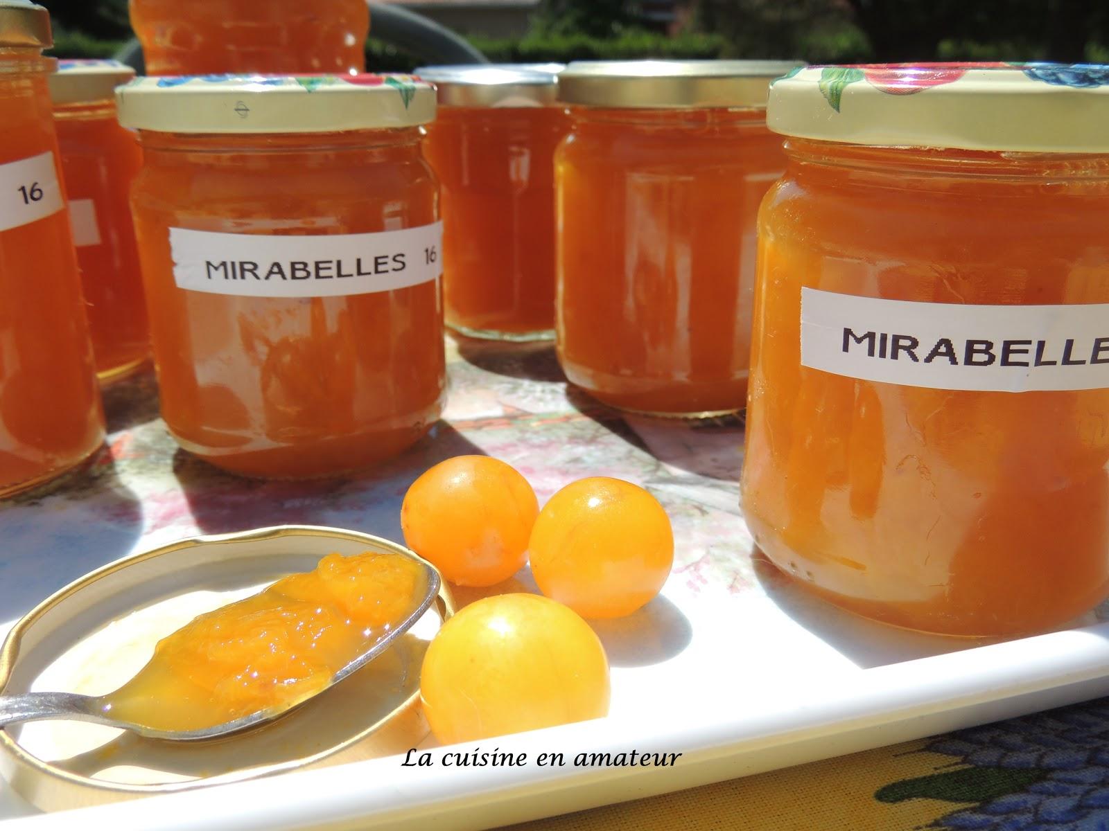 La Cuisine En Amateur De Maryline Confiture De Mirabelles Au Cookéo