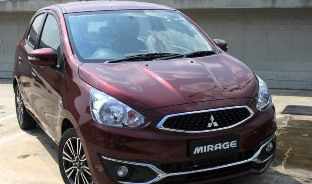 Front First Impression Of Mitsubishi Mirage Facelift 2016 Indonesia