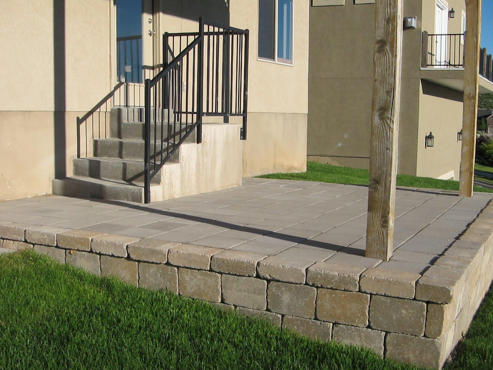 do it yourself divas: DIY: Patio on Build Backyard Patio id=96558