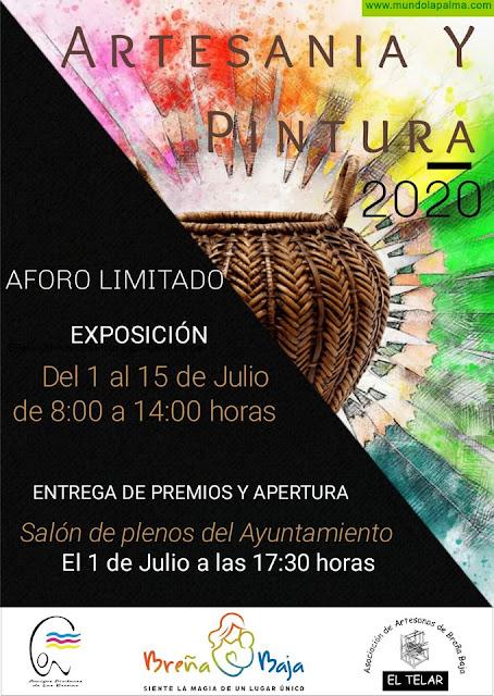 """BREÑA BAJA: exposición combinada de """"Artesanía & Pintura"""""""