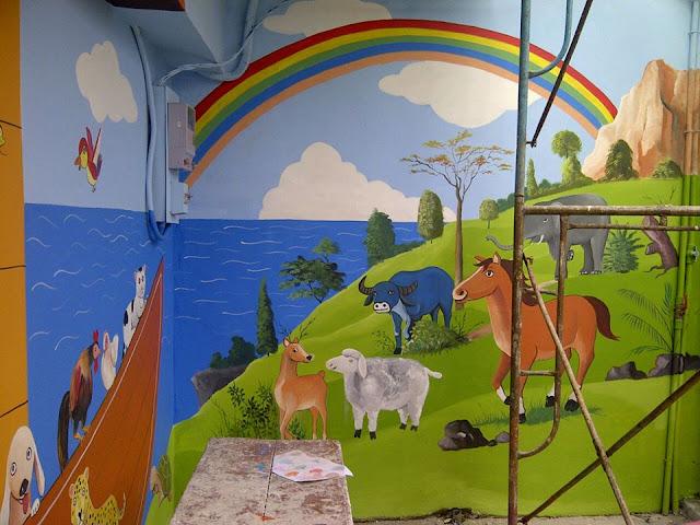 Lukisan Mural Kanak-kanak