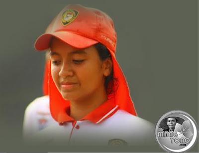 Gloria Natapradja Hamel Dara Berdarah Subang akhirnya harus gugur dari Paskibraka Nasional 2016