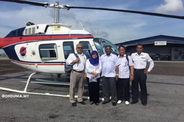 Timbalan Menteri Antara Yang Hilang Dalam Helikopter Di Sarawak