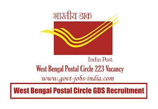 West Bengal Postal Circle GDS Recruitment 2020