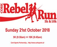 10k & 5k race in Bishopstown, Cork City... Sun 21st Oct 2018