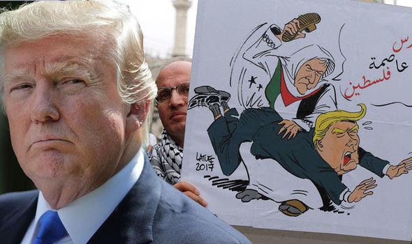 Trump Ancam Tak Akan Berikan Bantuan Ratusan Juta Dolar Bila Palestina Tidak Mau.....