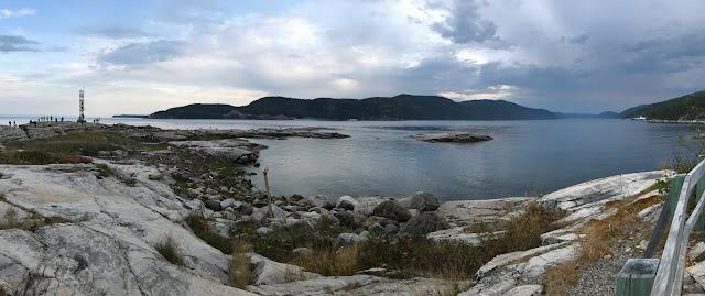 pointe de l'Islet Tadoussac Québec