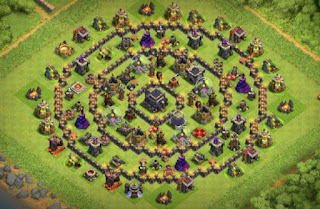 Town hall 9 Farming and Ring Base