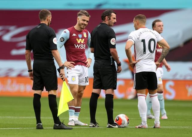 صور : لقطات من تعادل أستون فيلا ضد شيفيلد يونايتد في البريميرليج