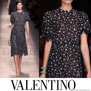 Crown Princess Mette-Marit wore Valentino Dress - Spring 2013 Ready to Wear