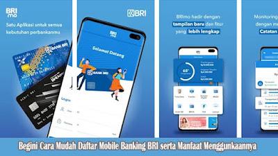 Cara Mudah Daftar Mobile Banking BRI