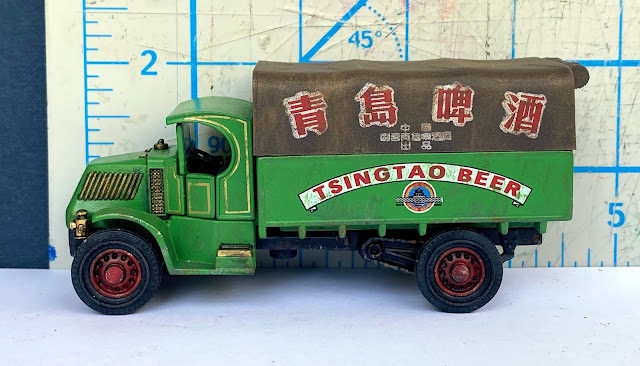 Matchbox Yesteryear Tsingtao Great Beers of The World 1920 AC Mack (YGB23)