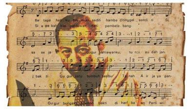 Lirik Lagu Gugur Bunga - Lagu Ismail Marzuki