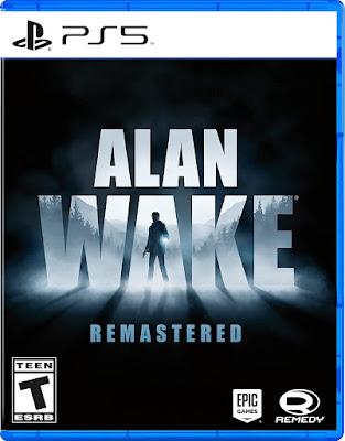 Alan Wake Remastered Game Ps5
