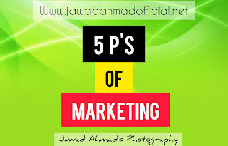 What are the 5 P's of Marketing ?
