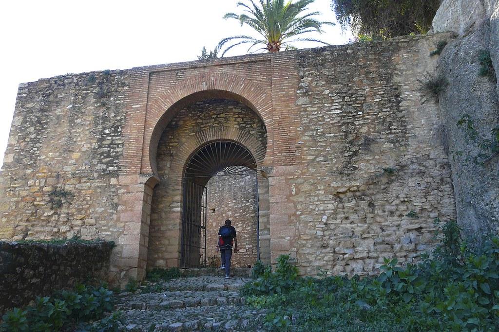 Арабские стены в Ронда, Испания