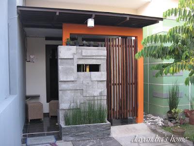 desain teras rumah minimalis tanpa cahaya matahari
