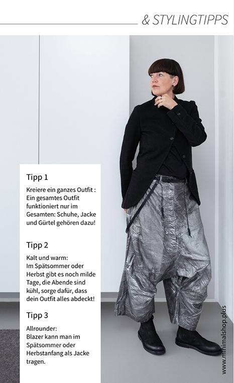 Der Lagenlook für den Herbst mit Mode von RUNDHOLZ - Tipps