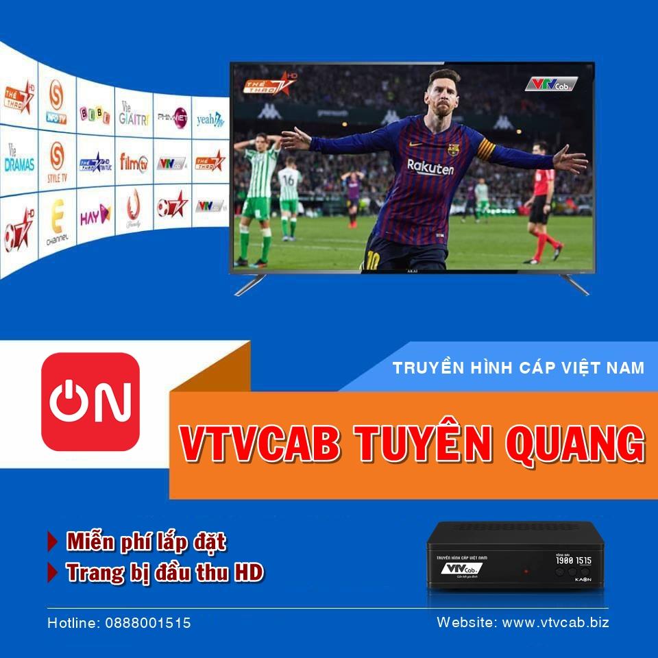 VTVcab tại Tuyên Quang
