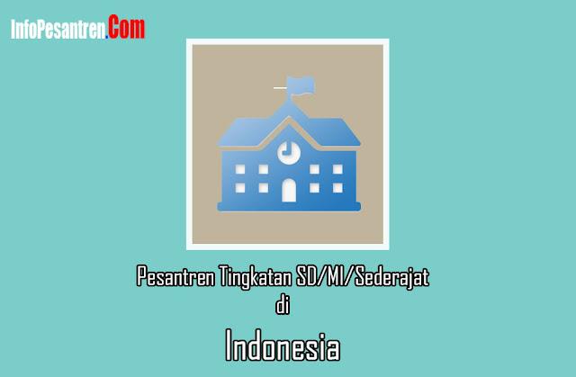 Daftar Nama Pondok Pesantren SD/MI/Sederajat