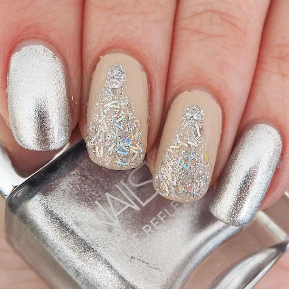 Loves List: December, Katie Kirk Loves, Nails Inc, Nail Art, Silver Nails, Favourites, UK Blogger, Beauty Blogger, Lifestyle Blogger, Fashion Blogger,
