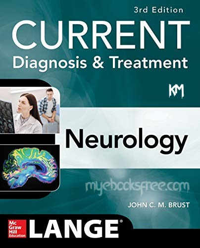 Current Diagnosis & Treatment Neurology 3e Pdf by Brust Book Download