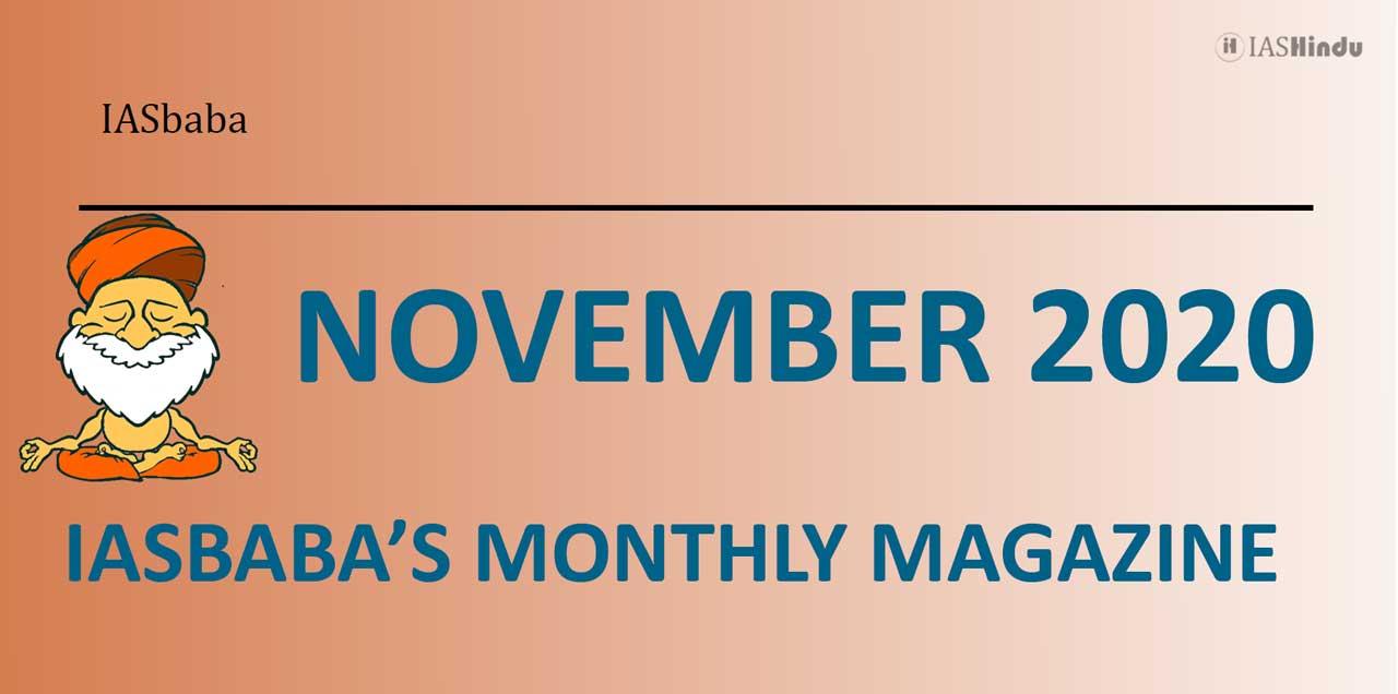 IAS baba Current Affairs November 2020