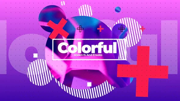 Videohive - Colorful Fashion Opener 24183542