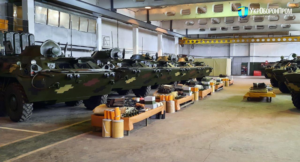 Миколаївський бронетанковий завод відремонтував партію БТР-80