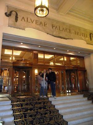 Hotel Alvear Palace; conhecendo a América Latina; Buenos Aires; Bairro Recoleta;