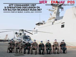 MTF COMMANDER Lakukan Kunjungan Perdana di KRI Sultan Iskandar Muda- 367