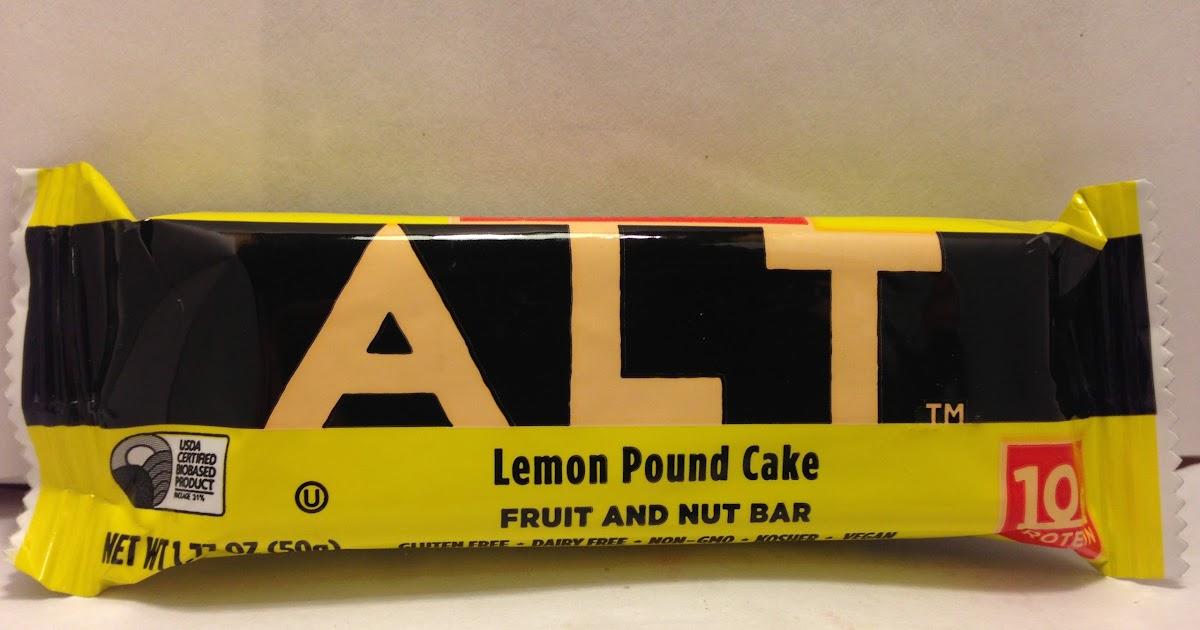 Larabar Alt Lemon Pound Cake Review